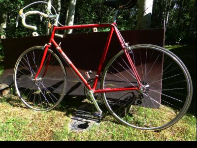 Big-time Barn Find - Mint condition Specialized Allez, circa 1982. One of the very first road bikes designed for the emerging triathlon market