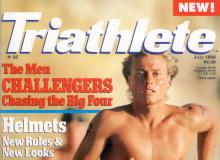 cover of merged TRIATHLETE magazine